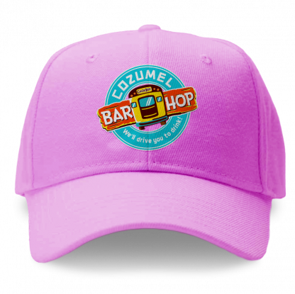 Pink Cozumel Bar Hop Cap